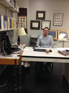 Matt's office at Hunter College, CUNY