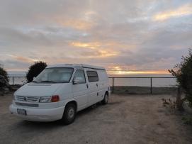 camping right at beach
