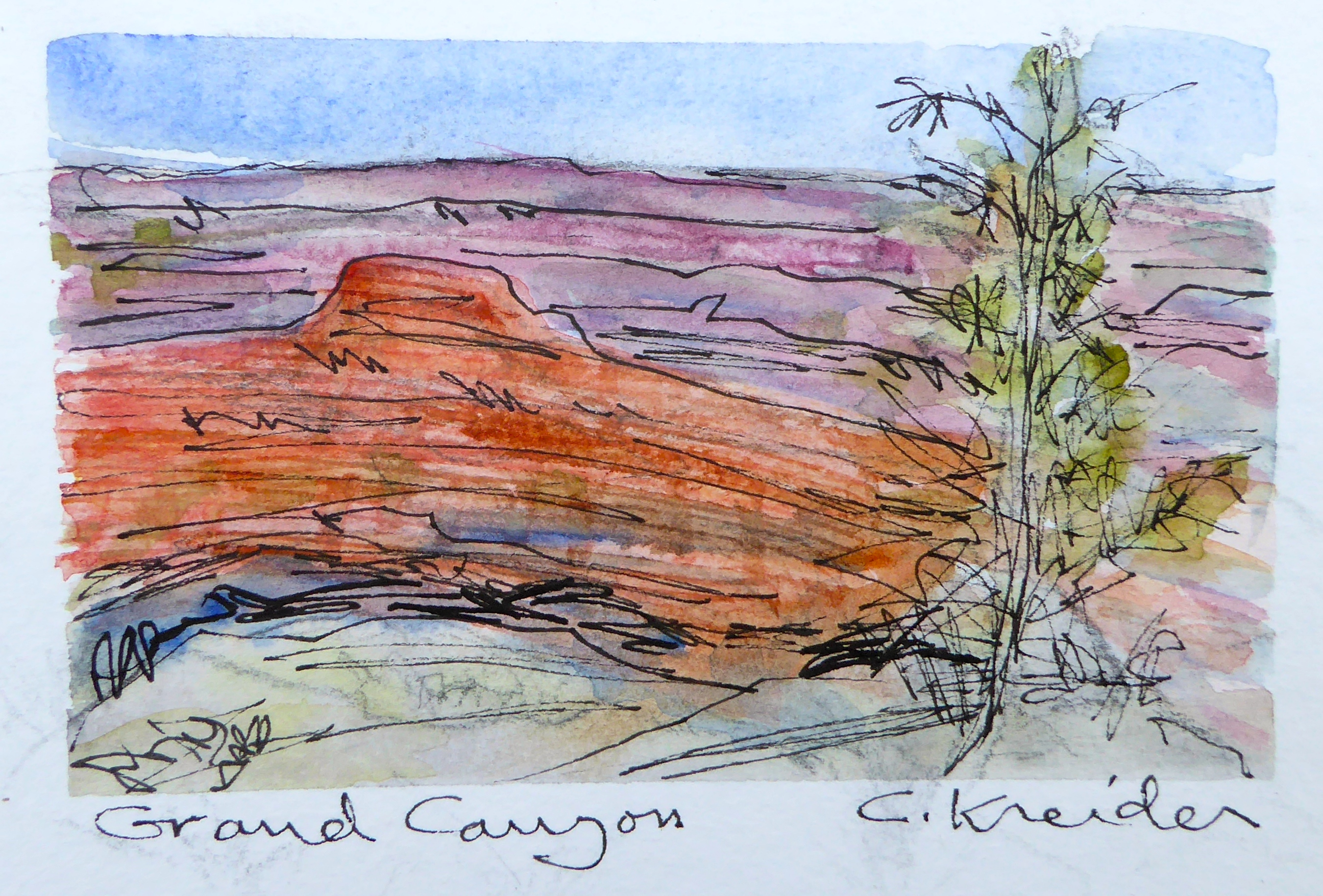 GRAND CANYON: Drawing on the Edge | Have Van Will Travel