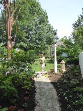 Garden in Lititz, PA
